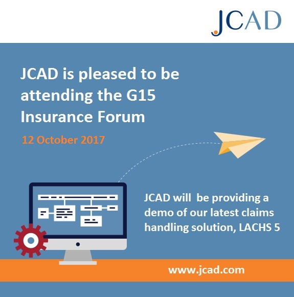 G15 Insurance Forum - Claims handling demo - JCAD